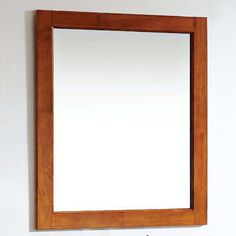 Solid Wood and Plywood Frame Mirror