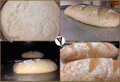 Il PANE del VICOLO CORTO: #pane a lievitazione #naturale con #lievitomadre...