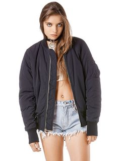 This jacket is so good for these looks, it adds a versatile element could be used with any of the given accessories and the other clothes. Have specified which would most call for it though. Sweater Jacket, Bomber Jacket, Unif Clothing, Concert Looks, Jackets For Women, Clothes For Women, Unisex Fashion, Outfit Goals, Dress To Impress