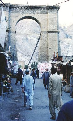 Gilgit Bridge - Pakistan  - Explore the World with Travel Nerd Nici, one Country at a Time. http://travelnerdnici.com