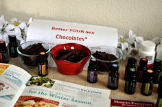 Better YOUR Sex Chocolates? YES! doTERRA recipes and more!