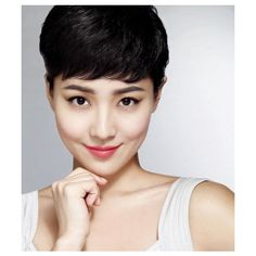 korean-hairstyles-pixie-crop.jpg (500×577) via Polyvore