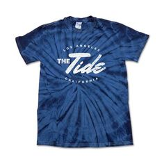 Tie Dye Tee ($33) ❤ liked on Polyvore featuring tops, t-shirts, tie dye tee, tie dyed t shirts, tie die t shirt, tie-dye tank tops and tiedye t shirts