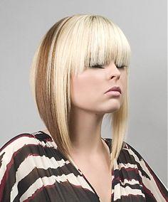 medium blonde straight coloured choppy Modern Layered hairstyles for women