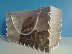 Italy Rome Coloseo Purse MoNa BAg by RC-Arts.