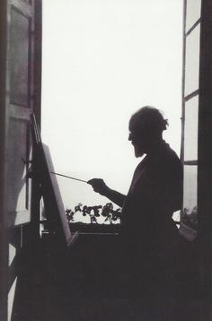 Henri Matisse painting in his apartment in Nice (c.1910). Matisse spent much of his later life - some 37 years - in or around Nice. The city salutes him with a fine (and free) museum dedicated entirely to him. The Chapelle du Rosaire de Vence - by Matisse's own estimation, his masterpiece - is just up the road.