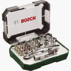 Bosch All-in-One Metal 108 Piece Hand Tool Kit Rs. Buy Bosch All-in-One Metal 108 Piece Hand Tool Kit Rs. 1799 Bosch All-in-One Metal 108 Piece Hand Tool Kit - Pecision bits for mobiles and laptops, Tool Box Kit, Hand Tool Kit, Camping Tools, Camping Equipment, Camping Gear, Outdoor Camping, Dremel, Electrical Hand Tools, Bosch Tools