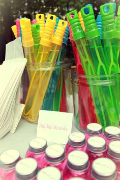 Bubble Carnival Birthday Party Ideas | Photo 16 of 29 | Catch My Party