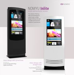 NOMYU INLITE Partners and customers ask us, and we did it ! A new version of the NOMYU for indoor, with a new method of production that allows a more economic cost version. by PARTTEAM & OEMKIOSKS More at www.oemkiosks.com #nomyu #inlite #billboard #kiosk #indoor #interactive #signage #touch #partteam #oemkiosks