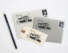 custom address stamps!