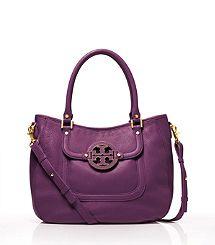 Tory Burch - Amanda Hobo in purple.  I want this!!!