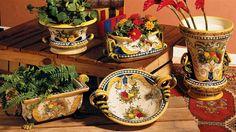 Florentine pattern...Italian ceramica, lovely pattern