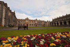 St Salvator's Quadrangle, St Andrews University, St Andrews, Scotland