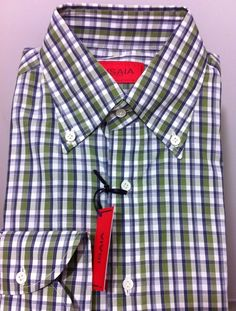 ISAIA Napoli Italy Sartorial Fantastic Shirt  15.75/40,M/50 NWT$545 Special Sale #Isaia #ButtonFrontBDsportdresscasualshirt