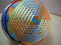 Hand made Temari ball by hiroetakenaka on Etsy