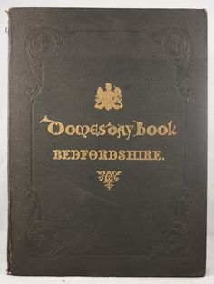 Domesday Book or The Great Survey of England of William the Conqueror 1862