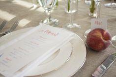 Using seasonal fruit for natural, beautiful table settings
