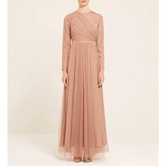 70s Fashion, Modest Fashion, Girl Fashion, Fashion Dresses, Fashion Looks, Muslim Girls, Maxis, Overalls, High Neck Dress