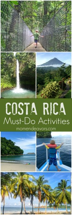 Costa Rica Family Travel Must-Do Activities
