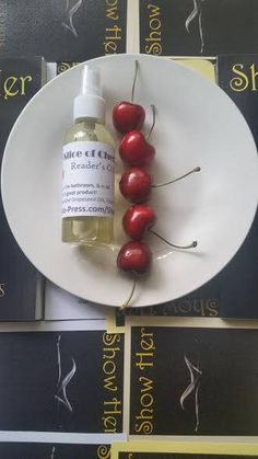 Slice of Cherry Reader's Oil Superior skin protection for readers and writers!