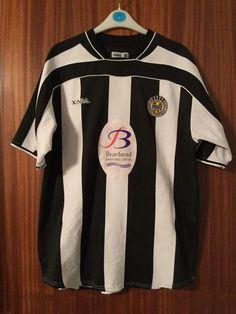 432a6758d3c Saint Mirren St Home Xara Official Football Shirt Medium 2005 Fodbold  Skjorter