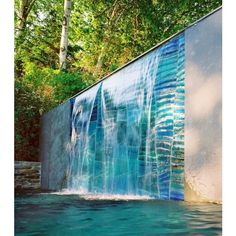 38 Amazing Outdoor Water Walls For Your Backyard ❤ liked on Polyvore featuring backgrounds