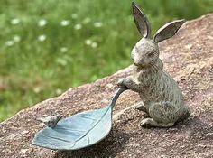 Garden Rabbit Bird Feeder