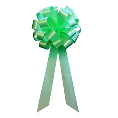 Mint Green Pull Bows with Tails  8 Wide Set of 6 * More info could be found at the image url.Note:It is affiliate link to Amazon.