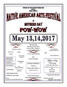 23rd Annual Native American Arts Festival & Mothers Day Pow Wow