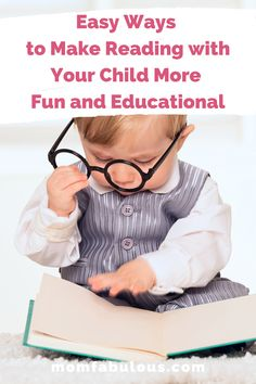 Easy Ways to Make Reading with Your Child More Fun and Educational Kids Lunch For School, Healthy Lunches For Kids, Back To School Hacks, School Tips, Parenting Toddlers, Parenting Hacks, Good Listening Skills, Celebrities Reading, Rainy Day Activities For Kids
