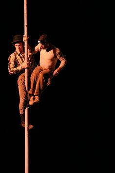 Von Zirkusvorstellungen sind wir sowieso begeistert. Bei 14 Metern Raumhöhe in der HALLE <Teil B> ist auch so einiges möglich.
