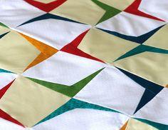 Boomerang quilt by Vitamini tutorial