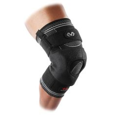 2c0b1b88ac McDavid Elite Engineered Elastic Knee Brace With Dual Wrap and Hinges Black  - Sport Medicine And Accessories at Academy Sports