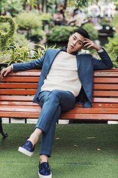 Park Seo Joon for International BNT Park Hyung, Park Seo Joon, Korean Star, Korean Men, Asian Actors, Korean Actors, Song Joong, Park Bo Gum, Park Min Young