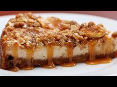 Caramel Apple Crumble Cheesecake Caramel Apple Desserts 4 Ways Apple Crumb Cheesecake, Cheesecake Desserts, Apple Desserts, Apple Recipes, Caramel Cheesecake, Healthy Recipes, Easy To Make Desserts, Delicious Desserts, Dessert Recipes