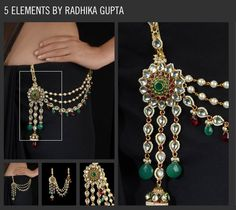 """Ethnic waist charm (kandora) Not only this adds to the charm of an ethnic attire, but if it is heavy enough (<100gms) & the hook is 3"""" long & 1"""" wide (approx) & it is inserted about 1.5 to 2"""" apart from the center line of the body, the hook activates acupressure points related to the throat, and acts to keep it clear of phlegm, so that the voice remains clear, & becomes easier to clear if required. It's a boon for women who need to clear their throat frequently."""