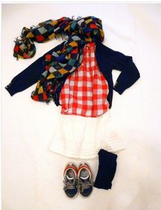Outfit outfit for kids on www.fiammisday.com checked outfit