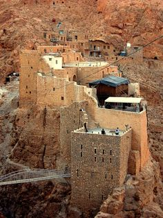 Monastery of Saint Moses the Abyssinian - Syria Deiro D-Mor Muse Kusoyo Deir Mar Musa Al-Hahabshi - دير مار موسى الحبشي The monastery dates back...