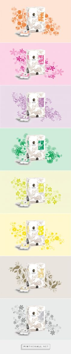 Tea collection package design by Mintlab - created via https://pinthemall.net