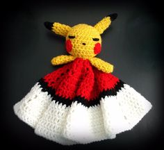 Security Baby Blanket Pikachu Pokeball Toy animal Shower gift pokemon go #Handmade