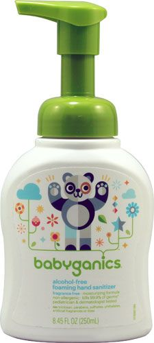 Product Review For Babyganics Alcohol Free Foaming Hand Sanitizer