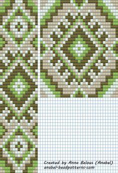 Схема гердана - станочное ткачество | - Схемы для бисероплетения / Free bead patterns -