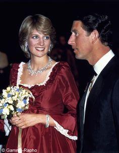 Lady Diana Royaume Uni 1982