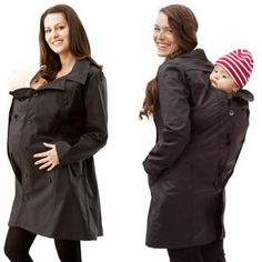 3 in 1 Carrying Trenchcoat anthracite