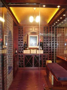 now this is a wine closet!