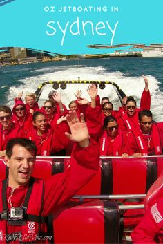 Oz Jetboating in Sydney, Australia! Click the image to take a peek behind the scenes at Sydney's most exciting activity.