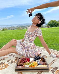 """Seann Altman on Instagram: """"a pretty dress, a charcuterie board, a grassy park, and good friends = a perfect day 💐 . My dress is from @shopcider use code…"""" Boys Wearing Skirts, A Perfect Day, Charcuterie Board, I Dress, Pretty Dresses, Best Friends, Park, How To Wear, Instagram"""