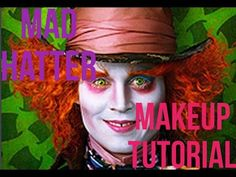 I love the makeup on Johnny Depp when he played The Mad Hatter in Alice In Wonderland. And many of you have requested the Mad Hatter makeup for fancy dress &. Mad Hatter Makeup, Madd Hatter, Mad Hatter Tea, Halloween Fancy Dress, Halloween Make Up, Halloween Party, Halloween 2019, Halloween Ideas, Halloween Decorations