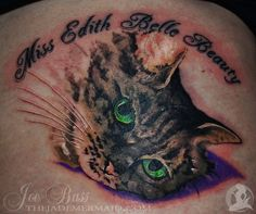 c27a73c57 Portrait of Miss Edith Belle Beauty by Joe Bass @ The Jade Mermaid Tattoo  Parlor - Portland, OR