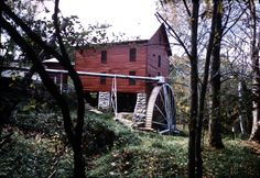 Mill Spring Mill as it looked in 1969, Wayne County, KY